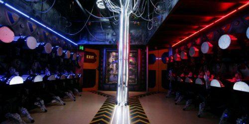 laser tag arena